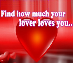 Find how much your lovers loves you?