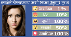 What feelings are revealed by ur profile?