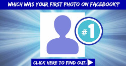 Find your first photo on Facebook