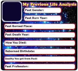 Find your previous life details